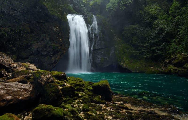 Водопады в Грузии