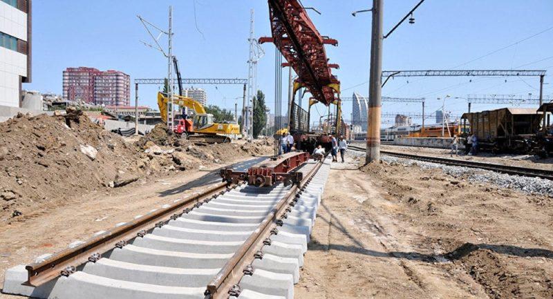 Железная дорога Баку - Тбилиси