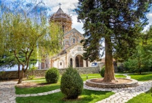 Женский монастырь Бодбе