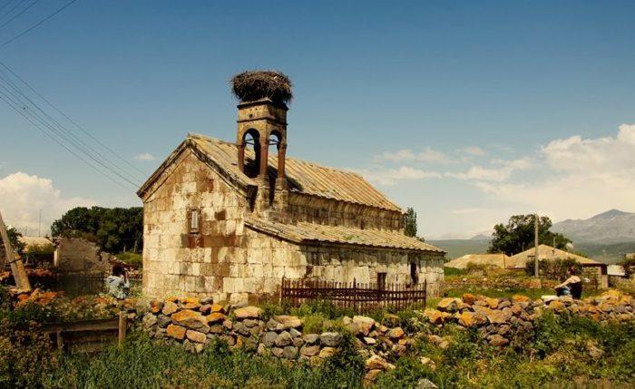 часовня Ванк возле села Бавра
