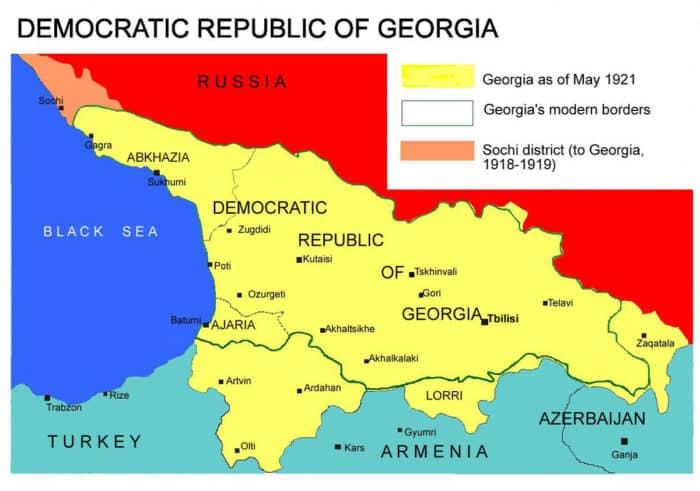 демократическая республика грузия