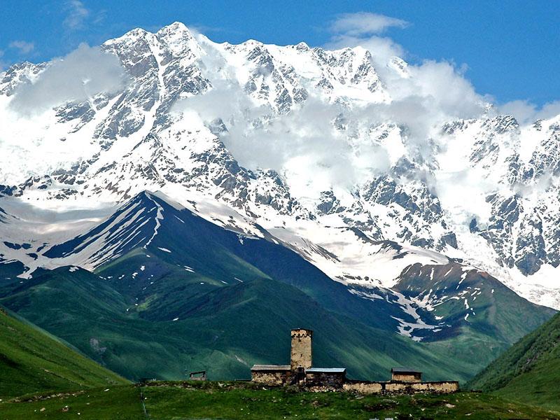 горы Сванетии