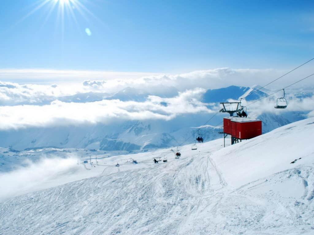 гудаури горнолыжный курорт