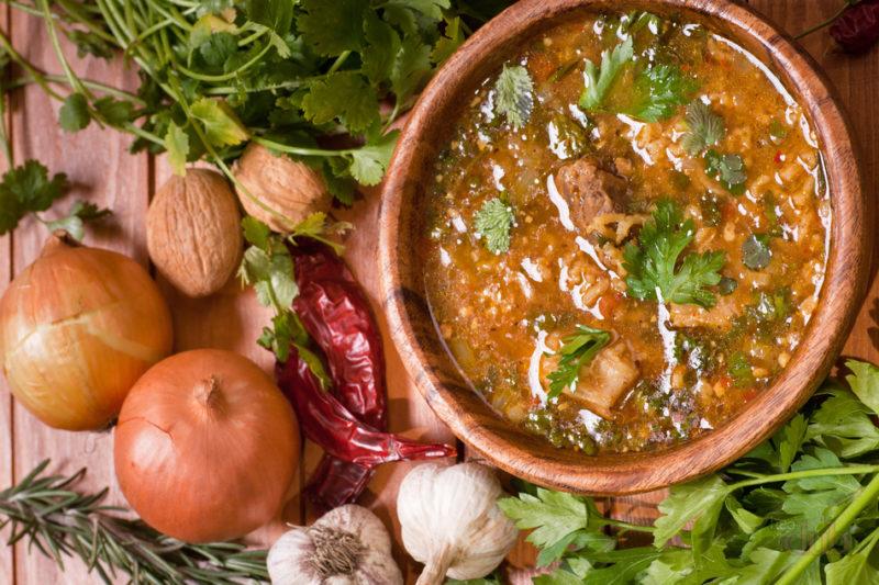 Суп харчо из перловки рецепт приготовления в домашних условиях 122