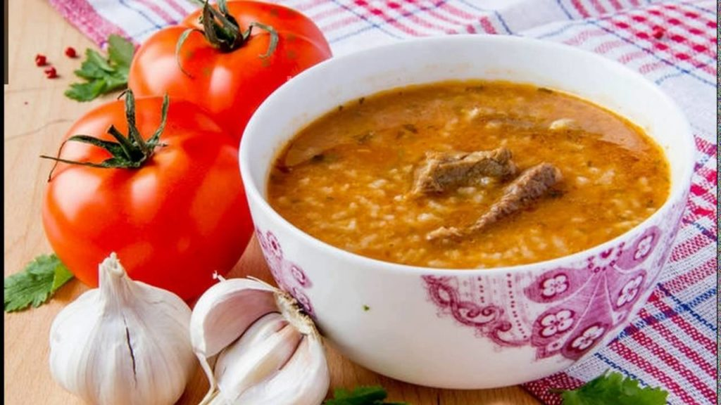 Рецепт настоящего грузинского супа харчо