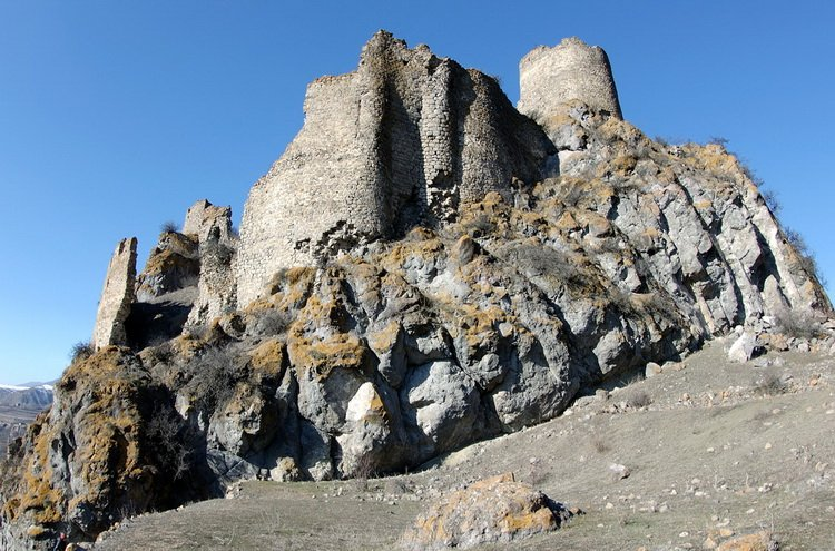 крепость Ацкури в Боржоми