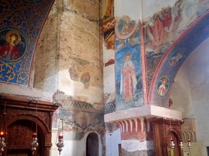 крепость и монастырь Новая Шуамта