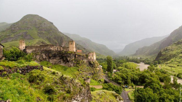 крепостные стены XI века