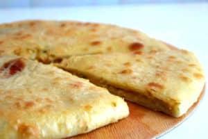 пирог с сыром сулугуни