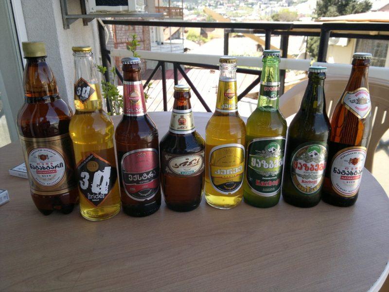 пиво грузии