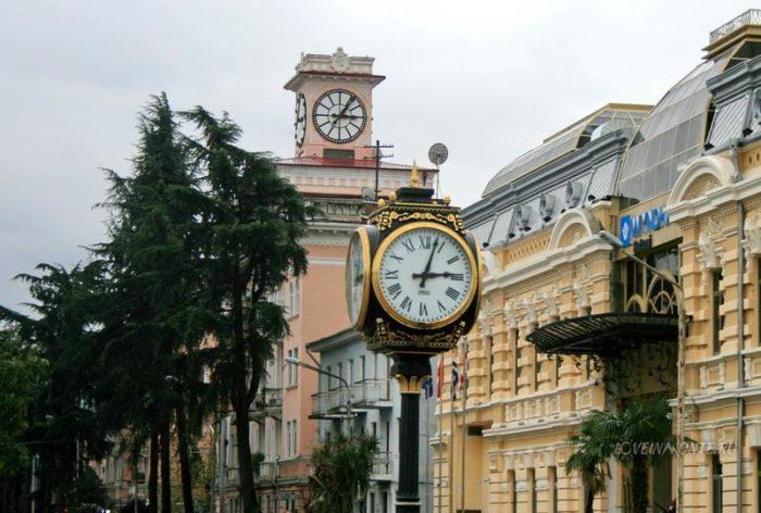 часы в тбилиси