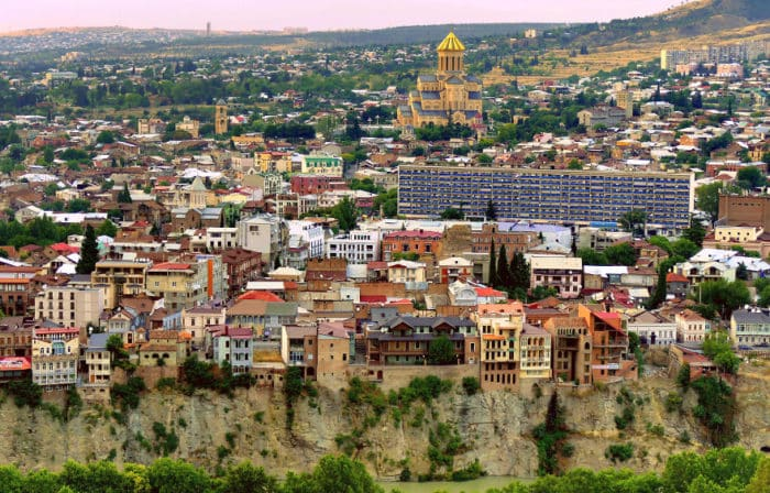 тбилиси летом фото