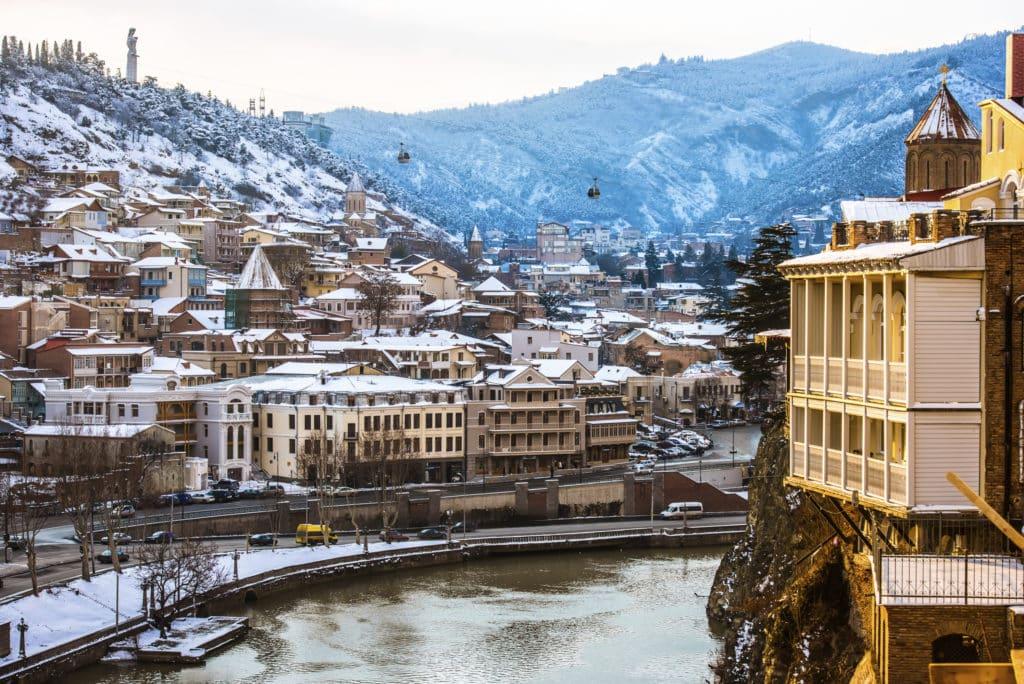 тбилиси зимой фото