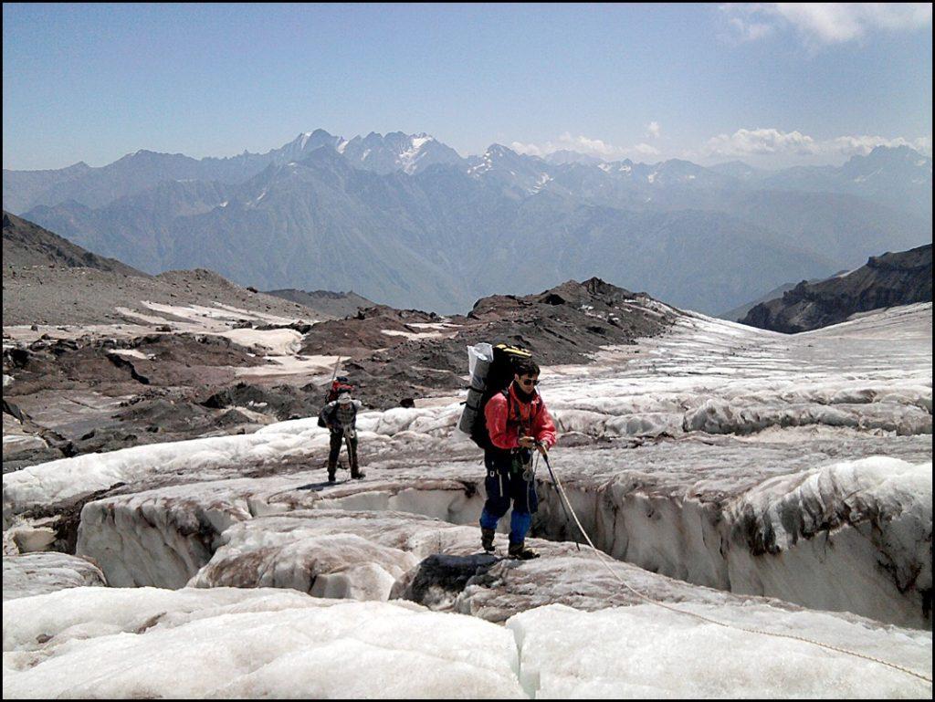 турне к леднику Гергети