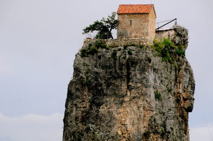 Крепость Одиночества на Кацхинском столпе