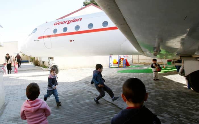 парк самолет