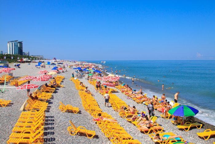 пляж в батуми