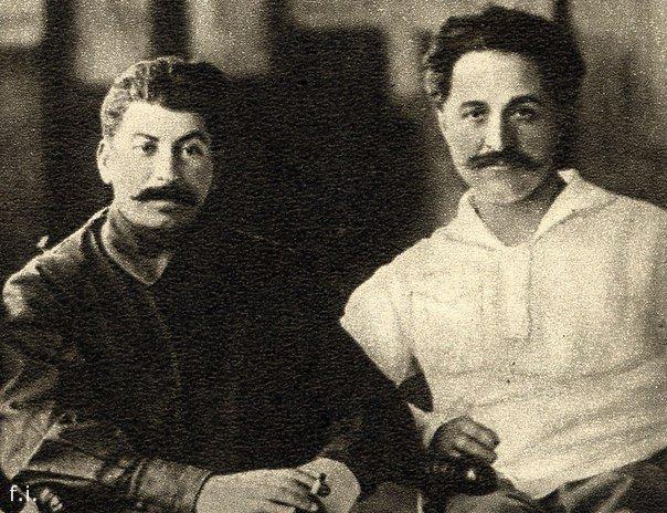 сталин и орджоникидзе