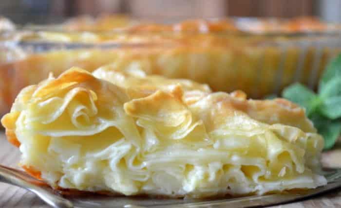 Ленивая ачма из лаваша с творогом и сыром - рецепт пошаговый с фото