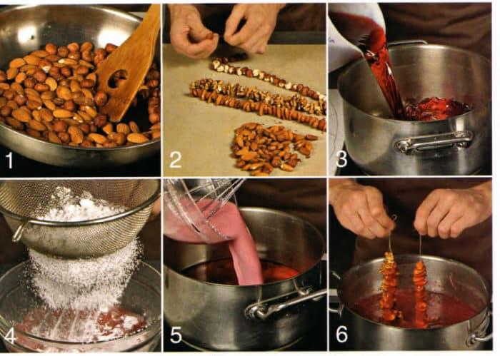 как готовят чурчхелу