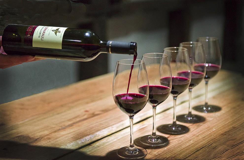 Красное вино Грузии