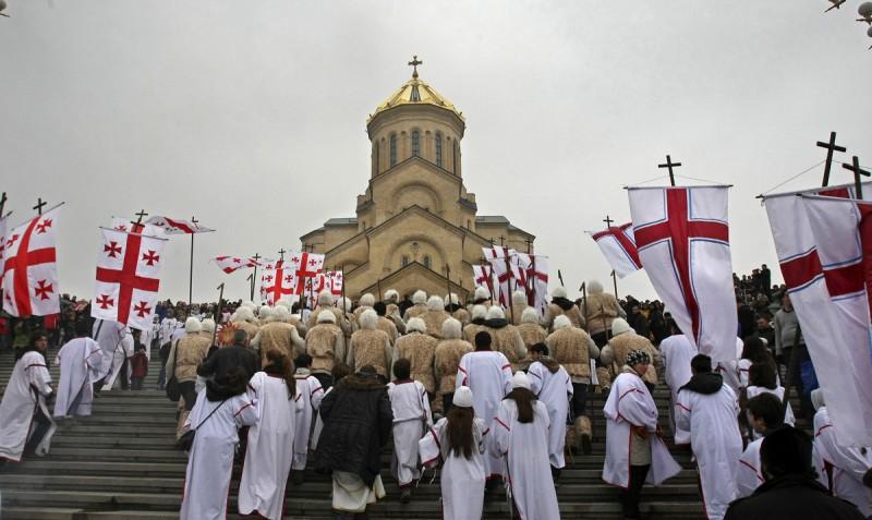 Грузия приняла христианство раньше Руси
