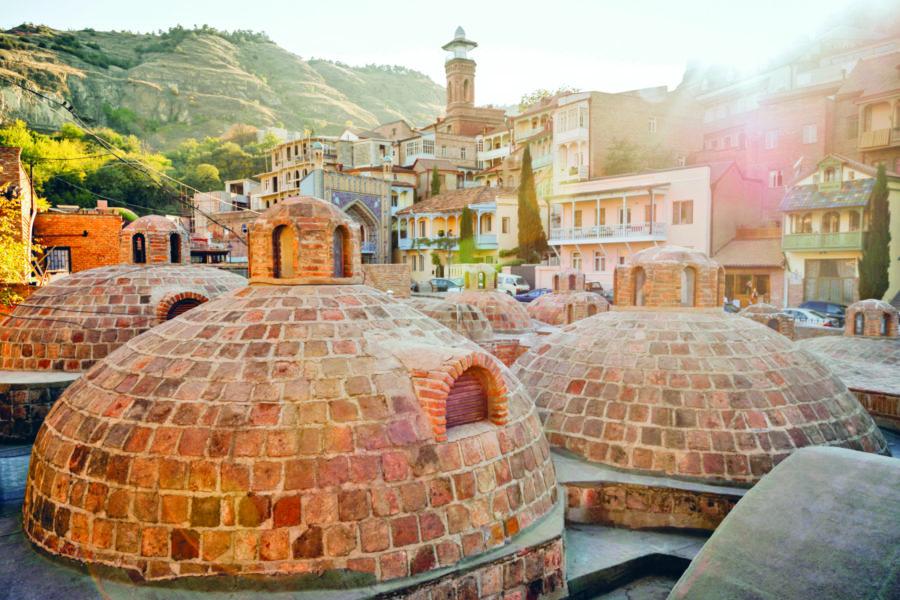 бани в Тбилиси