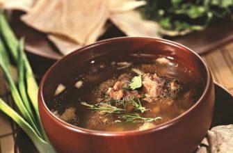 Секреты приготовления супа хаши